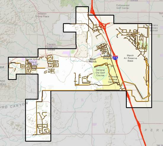 WWRF Sewer Service Area